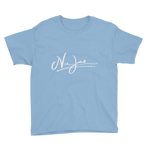 Kids Nu-Jaz Short Sleeve T-Shirt (Light Blue)