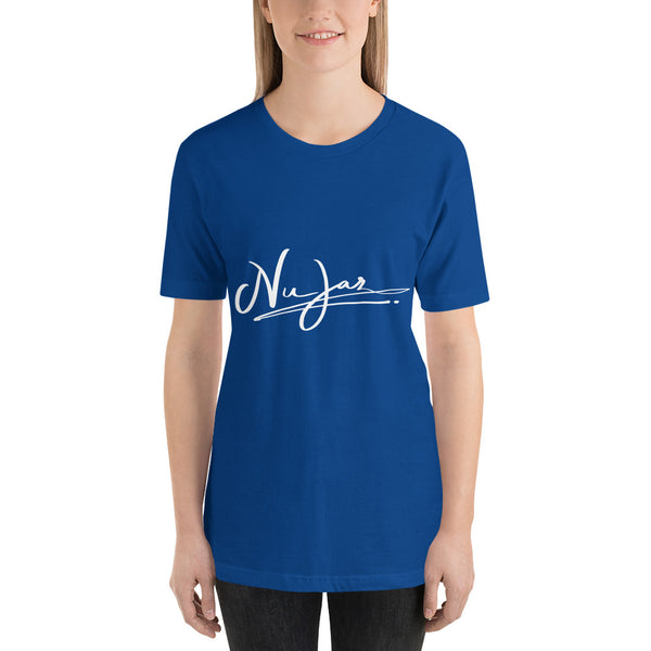 Women's Nu-Jaz Signature Short-Sleeve T-Shirt (Blue)