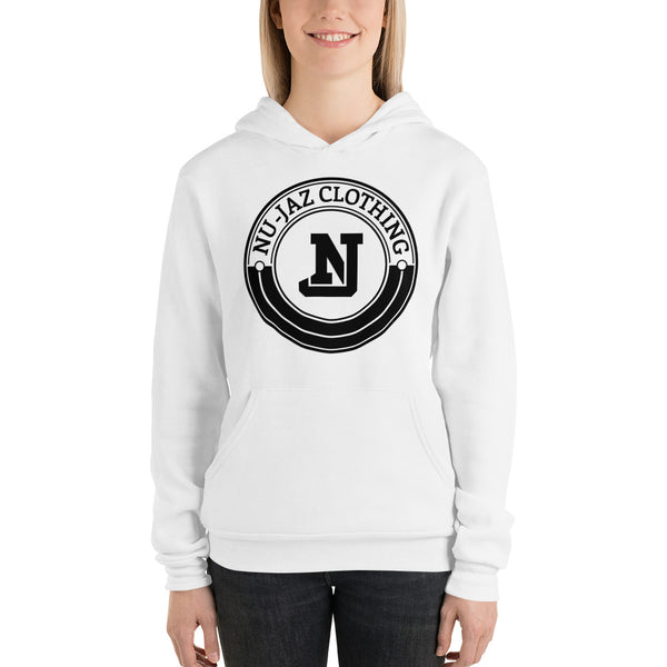 Women's Nu-Jaz Clothing Hooded Sweatshirt (White)