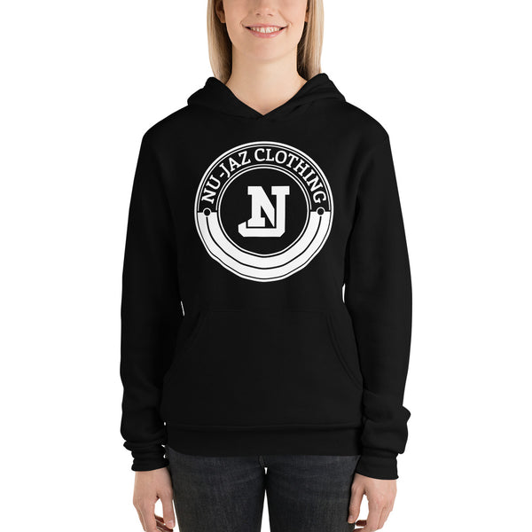 Women's Nu-Jaz Clothing Hooded Sweatshirt (Black)