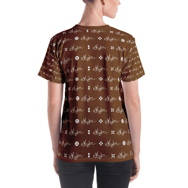 Women's Nu-Jaz T-Shirt (Brown)