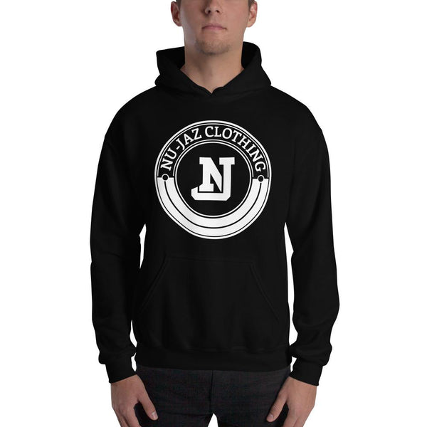 Men's Nu-Jaz Clothing Hooded Sweatshirt (Black)