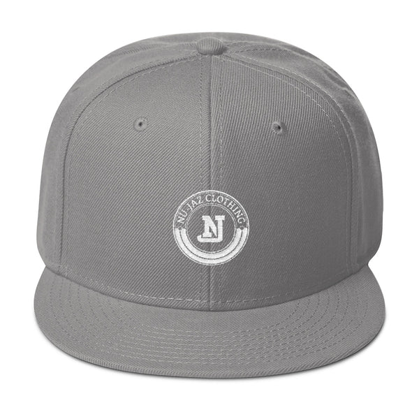 Nu-Jaz Clothing Snapback (Grey)
