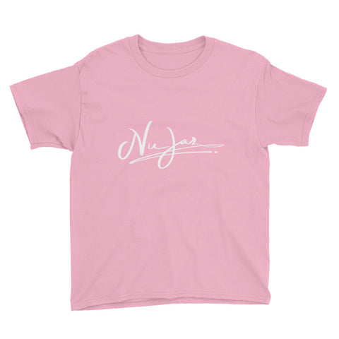 Kids Nu-Jaz Short Sleeve T-Shirt (Light Pink)