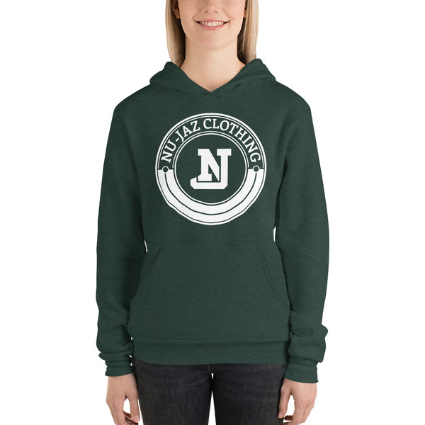 Women's Nu-Jaz Clothing Hooded Sweatshirt (Green)