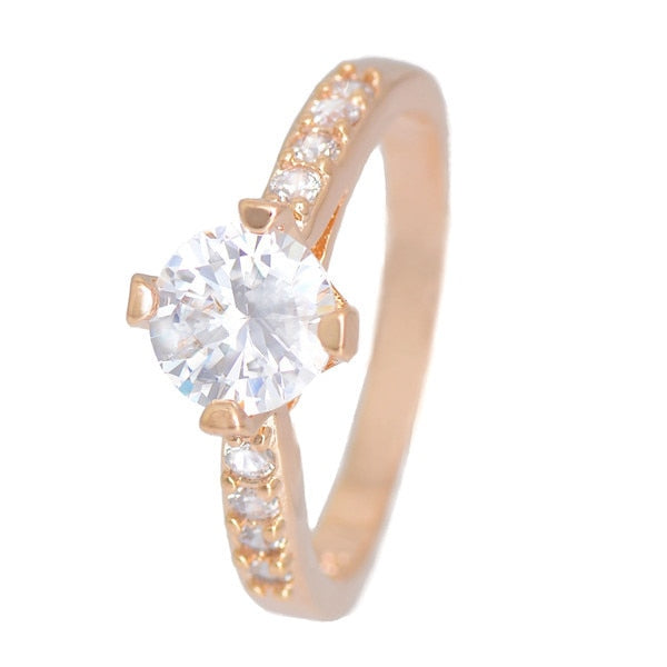 Elegant stylish Gold Color shiny ring for women's