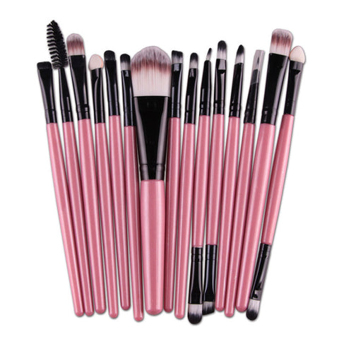 15pcs Makeup Brushes Set For Women