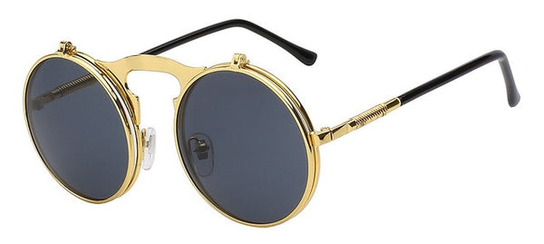Flip Up Steampunk Sunglasses for Men