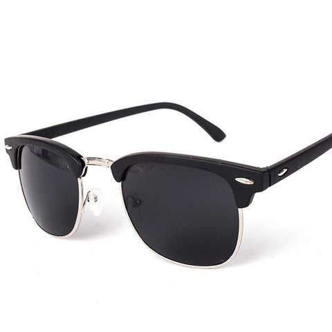 High Quality Half Metal Sunglasses for Men Women