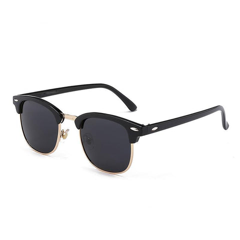 Semi Rimless Polarized Sunglasses for Men