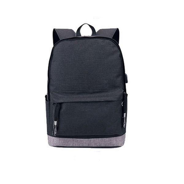 USB High school bags for Teenagers Boys