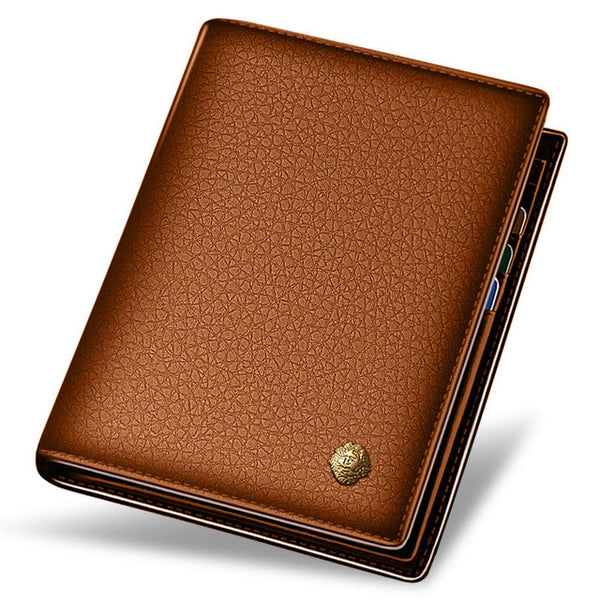 Genuine Leather Casual Wallet for Men