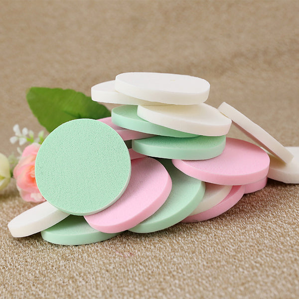 Sponge Cosmetic Puff 20 PCS Facial Sponges Powder Puff