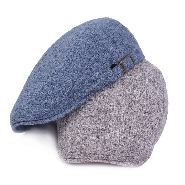 Cotton and Linen Men and Women Caps