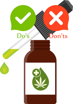 This Is A Quick List of CBD Oil Do's and Don'ts