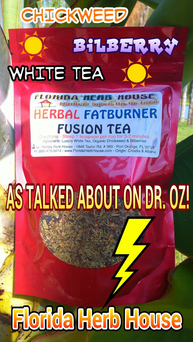 Herbal Fat Burner Fusion Tea - As Seen On Dr. Oz