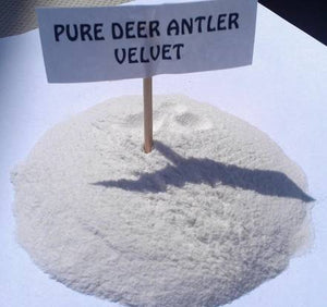 Deer Antler Velvet Powder - Pure & Unrefined