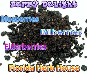 Berry Delight - Bilberries, Blueberries & Elderberries