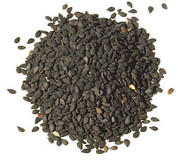 Sesame Seeds - Black -Wildharvested
