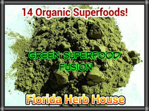 Green Superfood Fusion - 14 Organic Superfoods