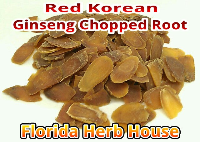 Ginseng Red Korean Sliced Root - Wildharvested