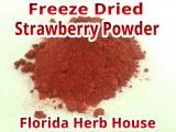 Strawberry Powder - Pure & Natural
