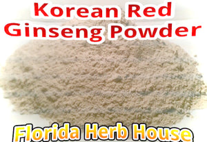 Ginseng Red Korean Powder - Pure & Unrefined