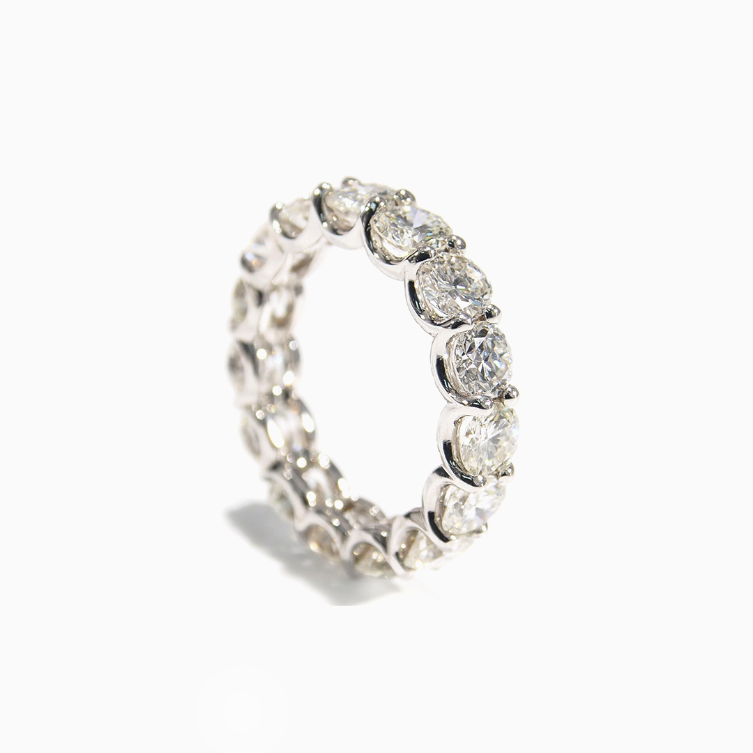 Diamond Eternity bands by Made For Love Jewelry.