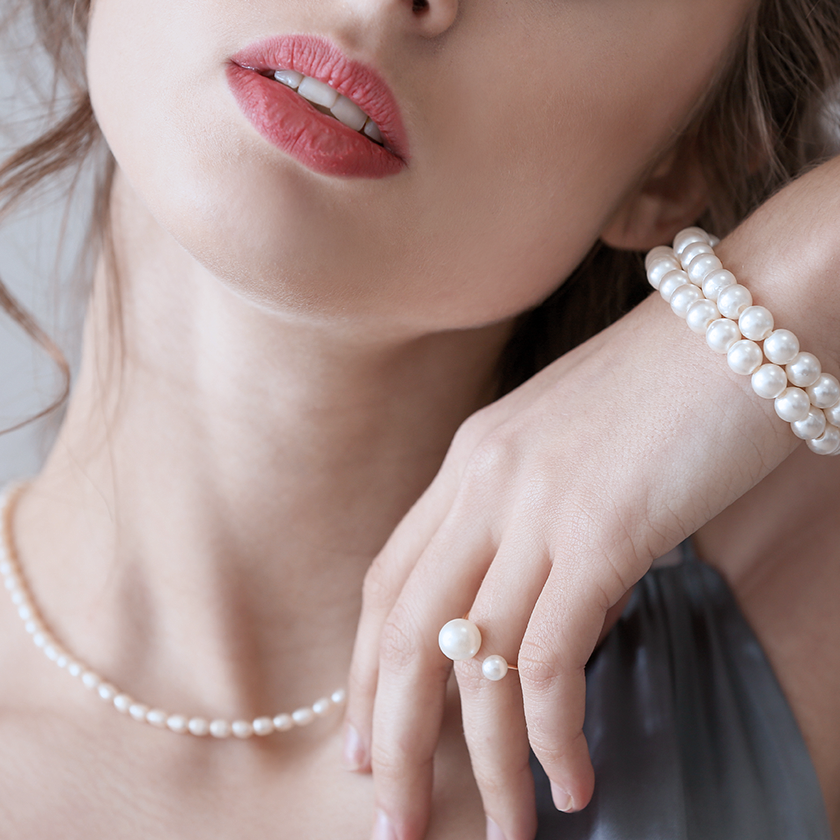 Made For Love Jewelry collection of Pearls