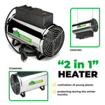 Phoenix Greenhouse Heater 2800 W / 9554 BTUs