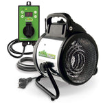 Palma Greenhouse Fan Heater 110 V, incl. Digital Summer / Winter Thermostat