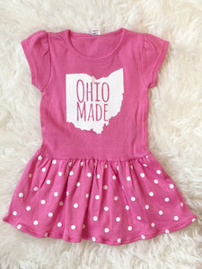 Ohio Made Pink Dress