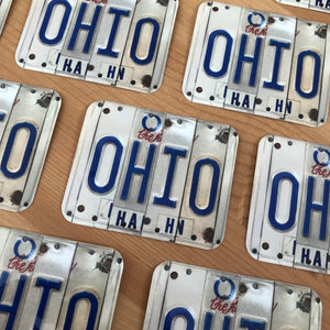 License Plate Ohio Sticker