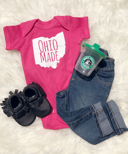 Ohio Made Onesie