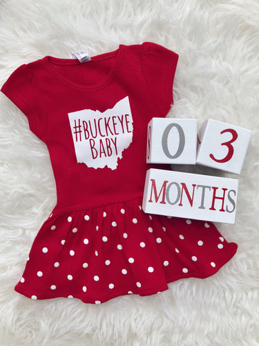 #BuckeyeBaby Dress