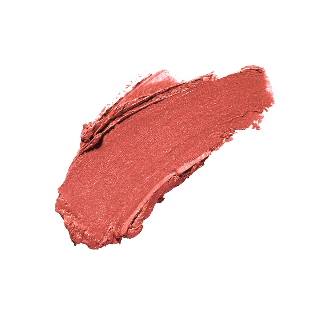 Fabulous Fez Bright Orange Satin Finish Cruelty Free Clean Beauty Lipstick