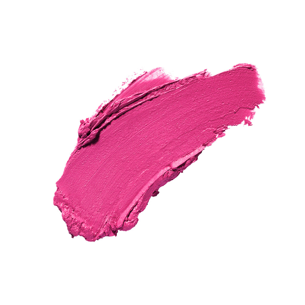 Have A Wild Thyme Bright Fuchsia Pink Satin Finish Cruelty Free Clean Beauty Lipstick