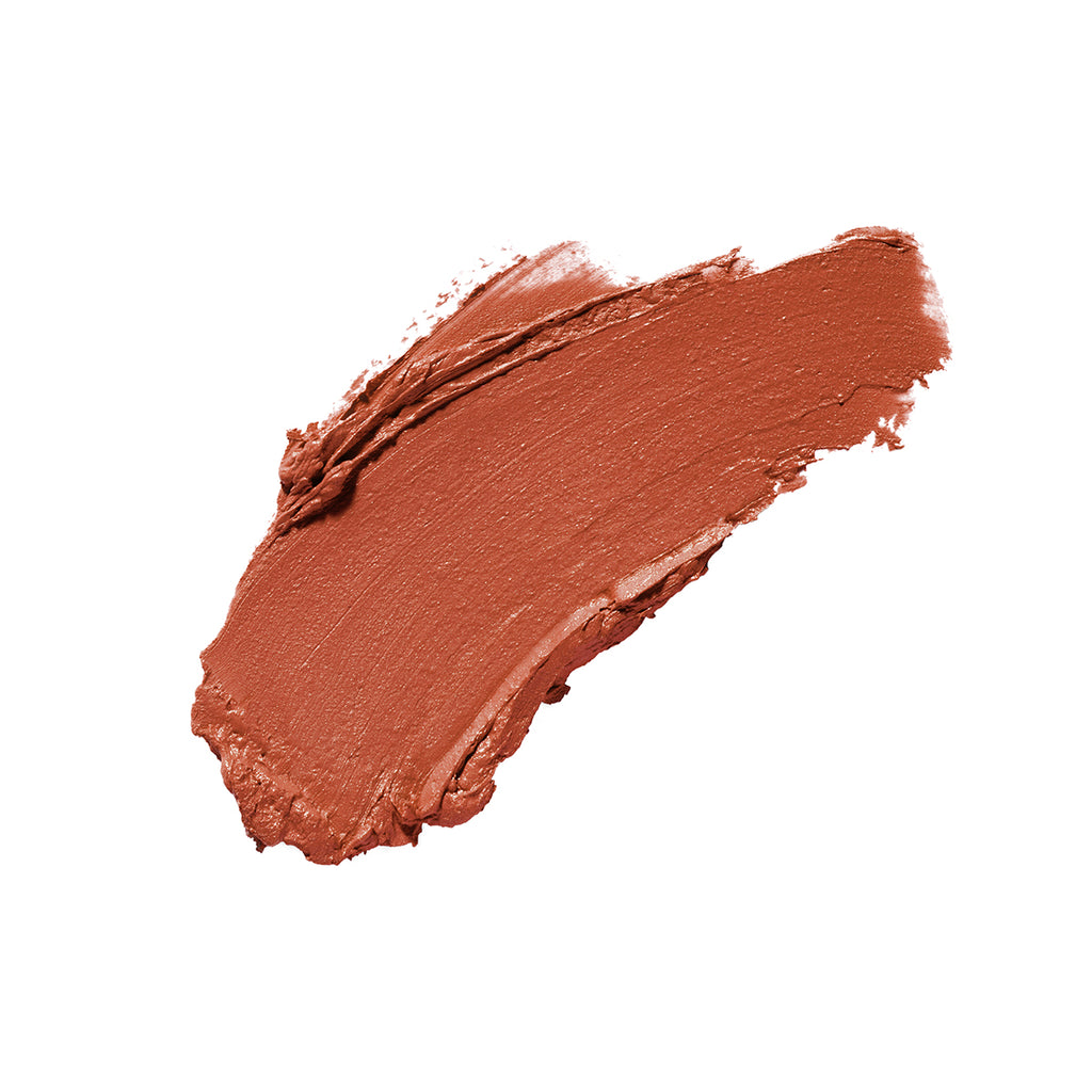 Sahara Sweetie Earthy Brown Satin Finish Cruelty Free Clean Beauty Lipstick