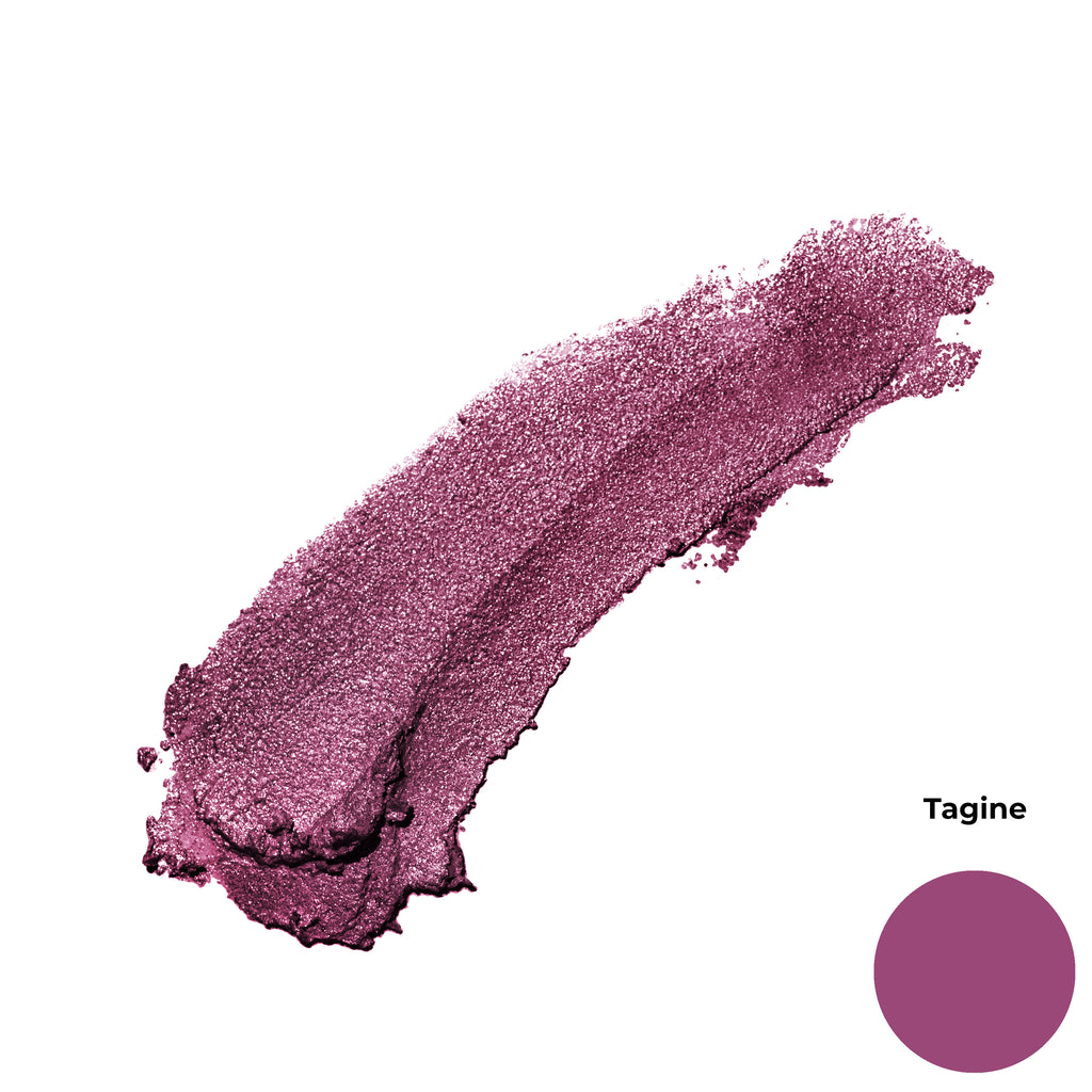 Tagine Berry Purple Shimmer Finish Cruelty Free Clean Beauty Gel Eyeshadow