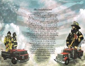The Firefighter's Creed
