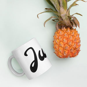 Julie Mug | KreADiv Gifts | Personalized First Name Meaning Artwork Gift