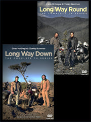Long Way Round and Long Way Down DVD package (All region)
