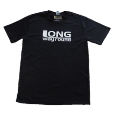 Long Way Round Men's Logo Black T-Shirt