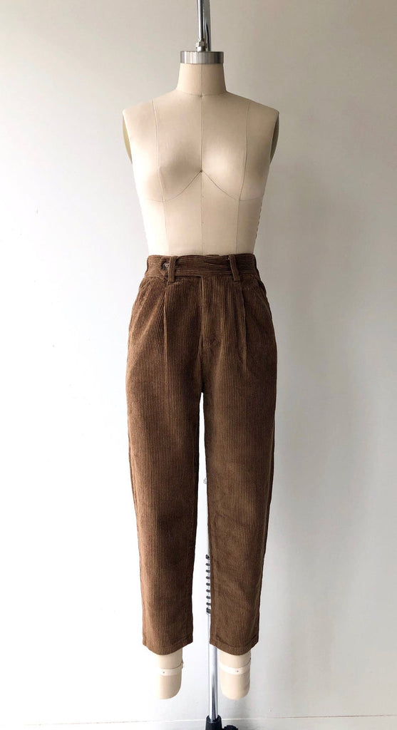 Wide Wale Corduroy Trousers | Bark