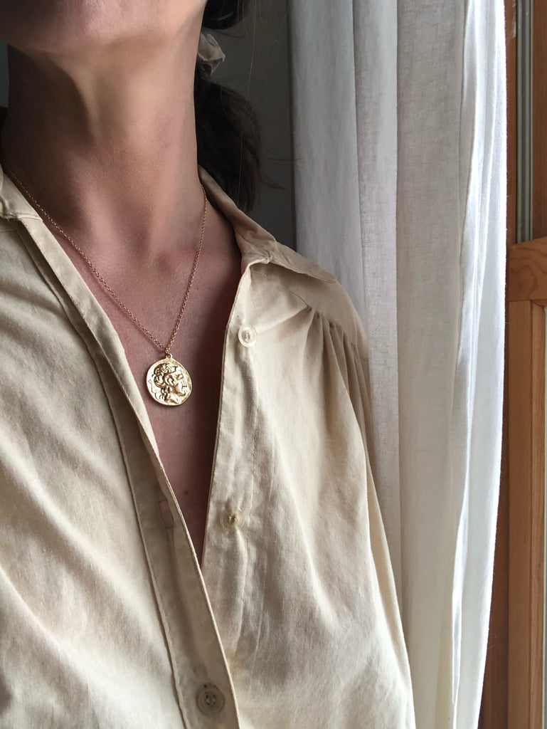 Nerva Roman Coin Necklace | The Archaíos Collection