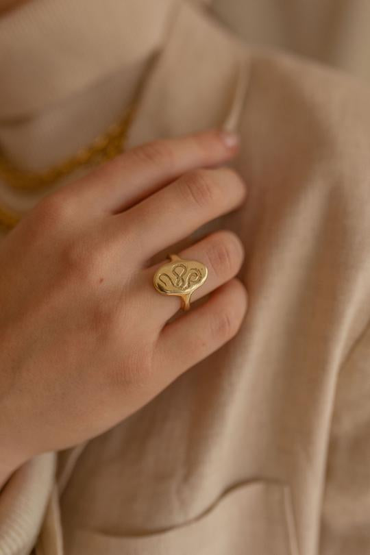 Serpent Rising Ring | Dea Dia Jewelry