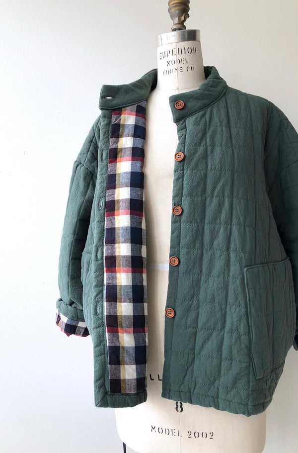 Balsam Quilted Cotton Jacket