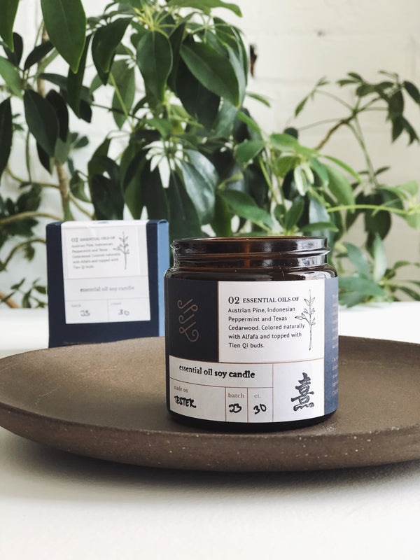 Even Keel Essential Oil No.2 Candle