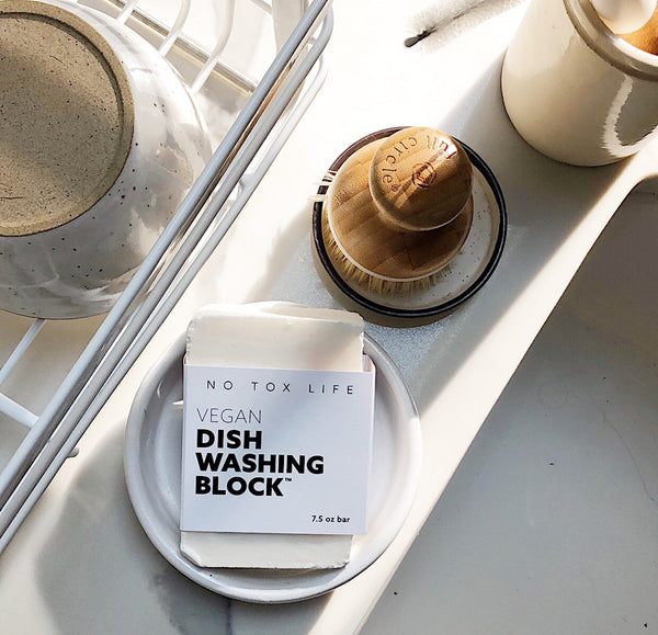 Dish Washing Block® bar Free of Dyes & Fragrance