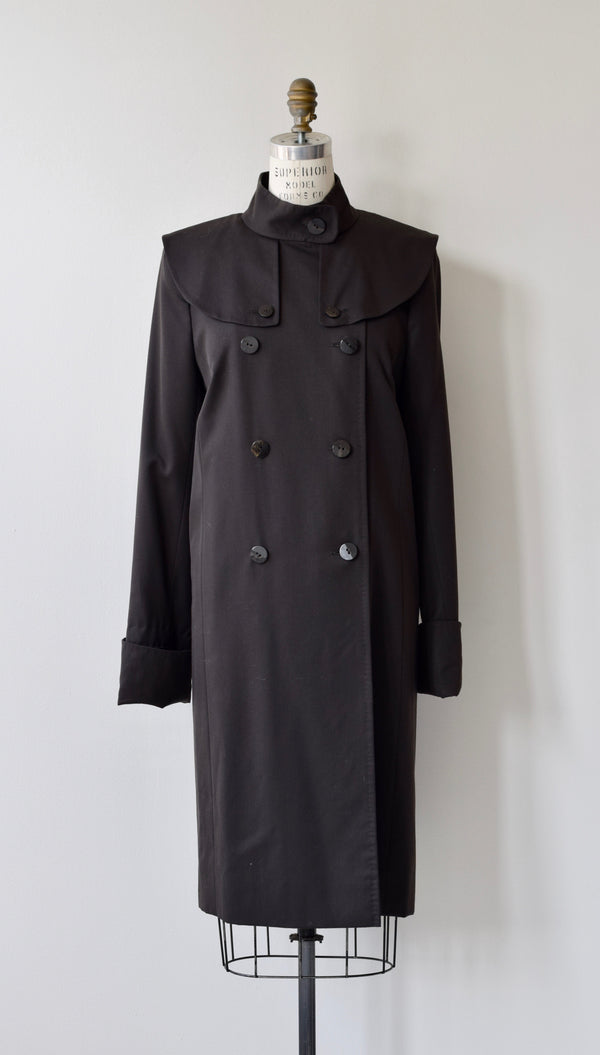 Pickton Gabardine Wool Coat